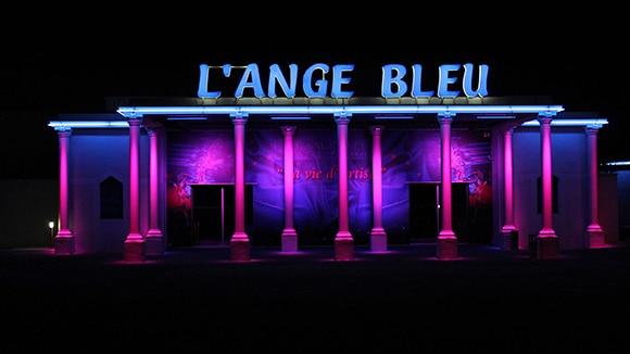 Ange bleu cabaret bordeaux