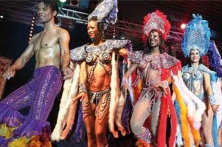 Fiesta tropicale cabaret repas spectacle