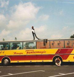 Bus de la tournée Fantasmgic 1993