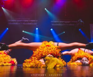 French cancan cabaret itinérant