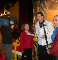 Equipe TF1 tournage Ange bleu