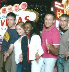 L'équipe Fantasmagic à Las Vegas