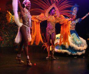 Revue de cabaret exotique : Folies tropicales