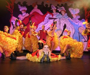 French cancan ballets