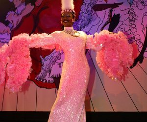 Cabaret costume rutilant