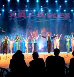 Tournée spectacle Shangaï