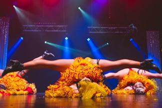 Etoiles cabaret revue parisienne