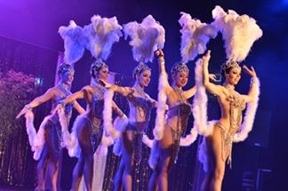 Revues cabaret itinérant Folies folies